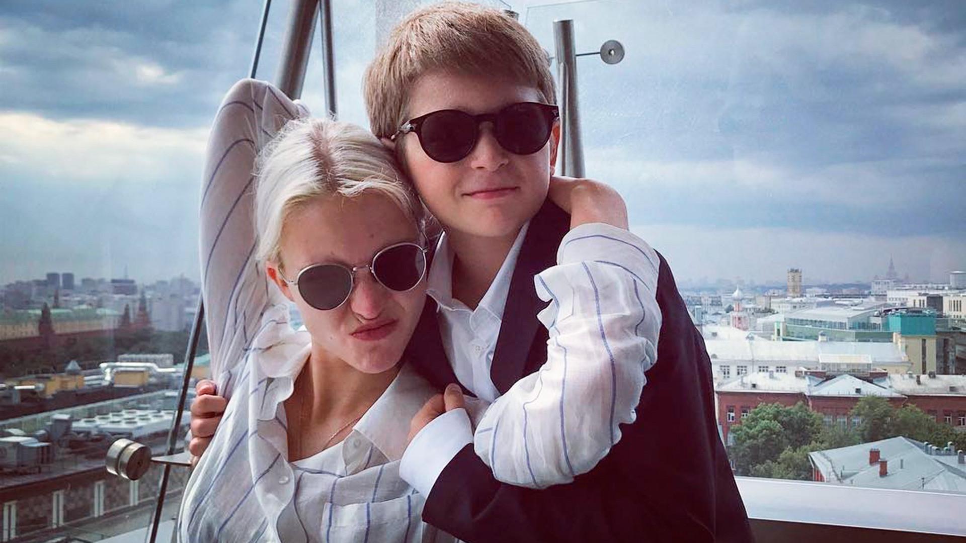 Максим Датов и Саша Лус