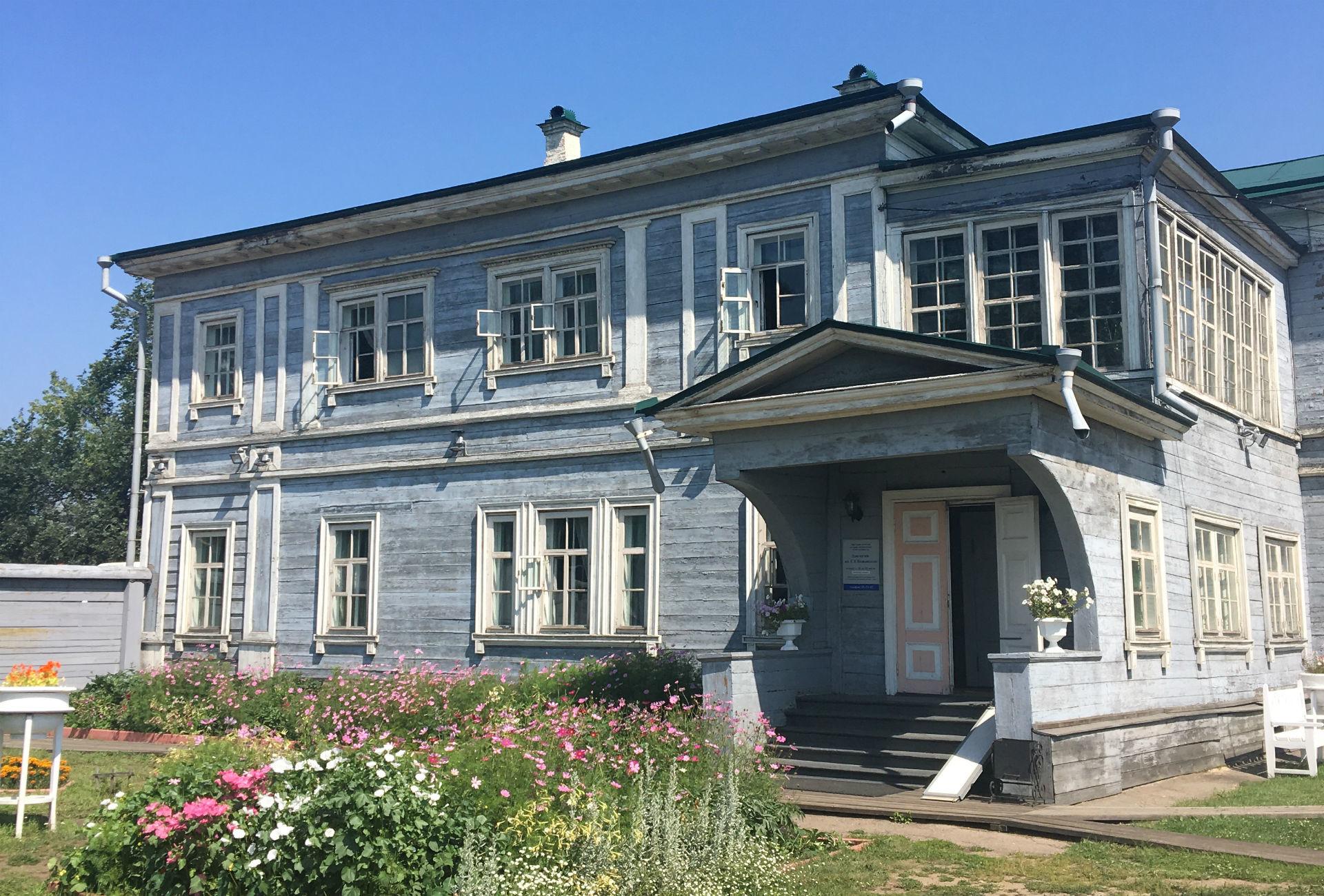 L'une des résidences de décembristes à Irkoutsk.
