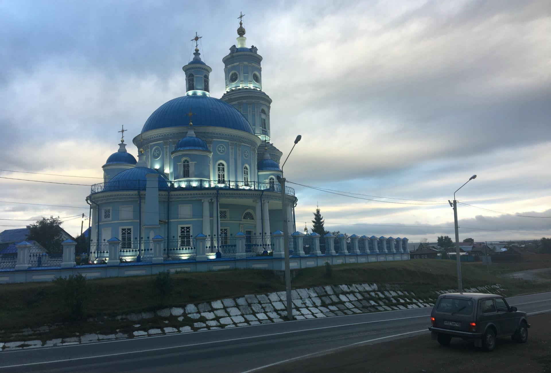 Église à Telma, dans la région d'Irkoutsk.