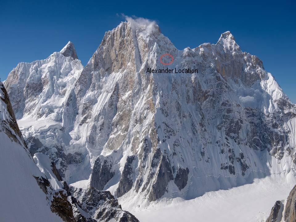 Гуков заглавен на приодот до планинскиот врв
