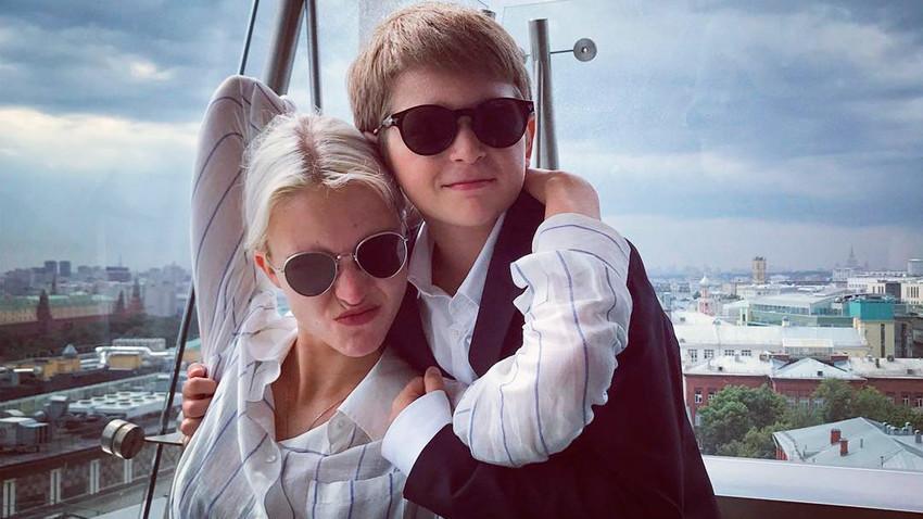 Maksim Datov in Sasha Luss
