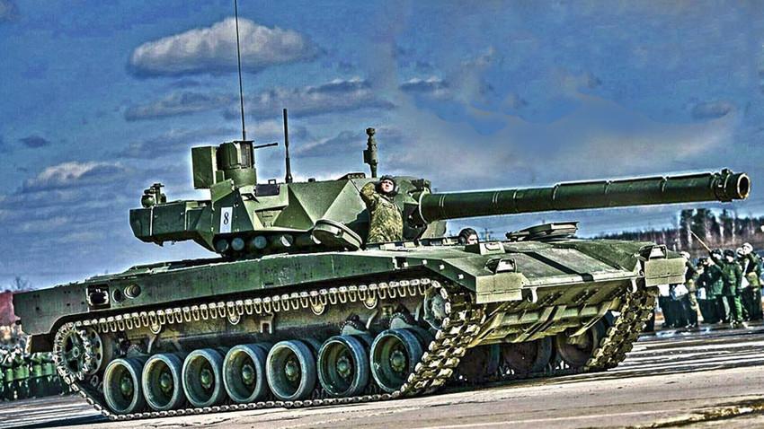 """Основният боен танк Т-14 """"Армата"""""""