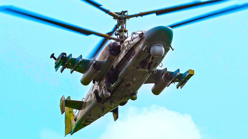 """Ка-52 """"Алигатор"""" добива нова оптика"""