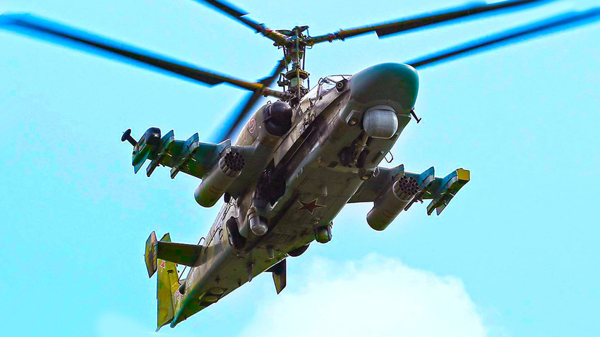 "Ka-52 ""Aligator"" dobija novu optiku."
