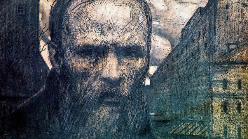Retrato de Fiódor Dostoievski