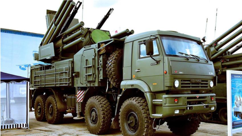 Ruski Pancirji opravijo levji delež pri protizračnih intervencijah v Siriji.