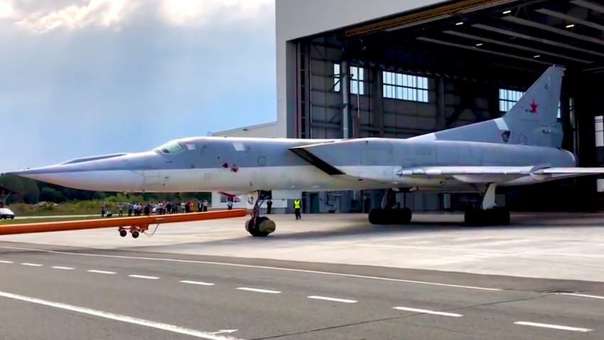 Ту-22М3М в Казан- 16 август 2018 г.