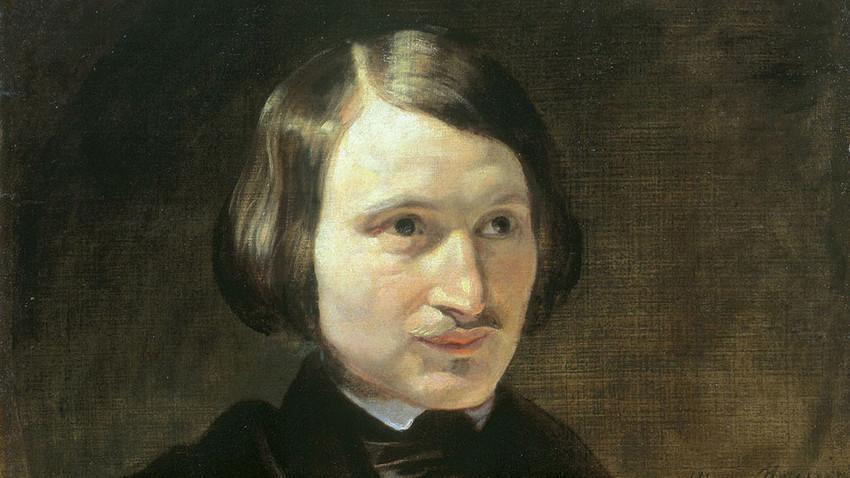 Gógol retratado por Fiódor Moller.