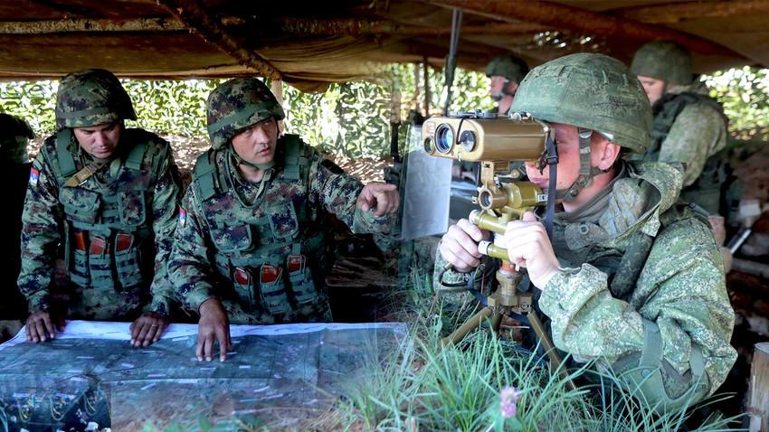 Успешна координација на командном месту се брзо пренела и на војнике у првим борбеним редовима