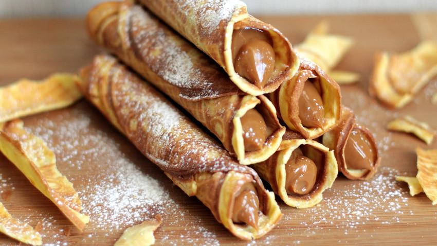 Resultado de imagen para dulce de leche en waffle