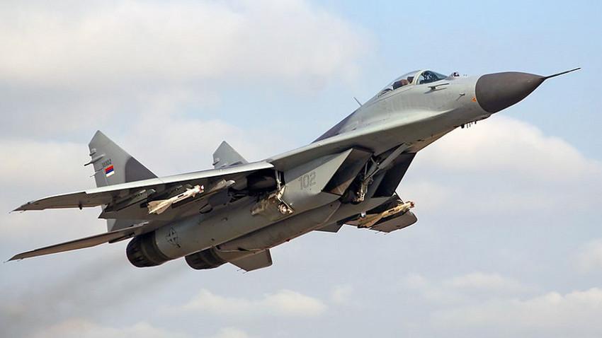 МиГ-29 српског Ратног ваздухопловства