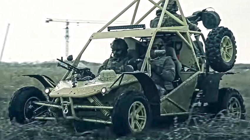 """Koncepcija buggyja mod. """"Čaborz-M3 - Čečenavto"""""""