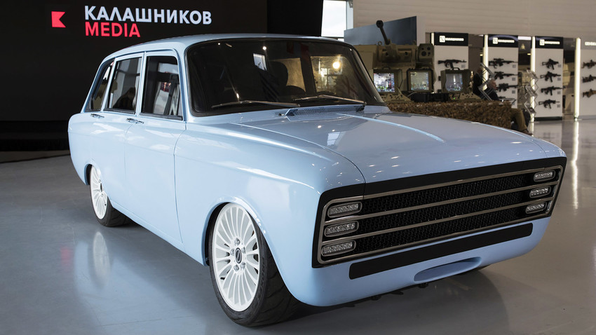Here comes the Russian vehicle to rival Tesla.