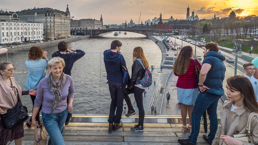 Il Parco Zaryadye, un angolo di natura a pochi passi dal Cremlino, è tra le mete da non perdere in giro per il mondo, secondo la rivista Time