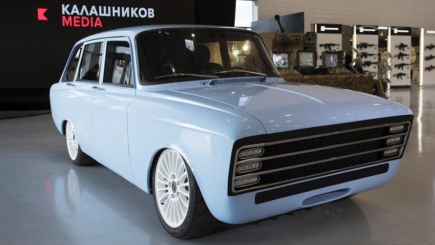 Mobil konsep terbaru Rusia, calon pesaing Tesla.