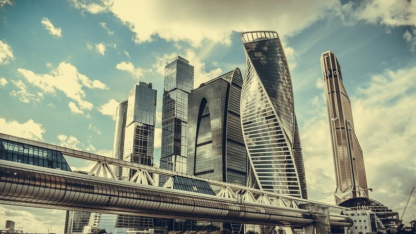 Poslovna četrt Moskva City