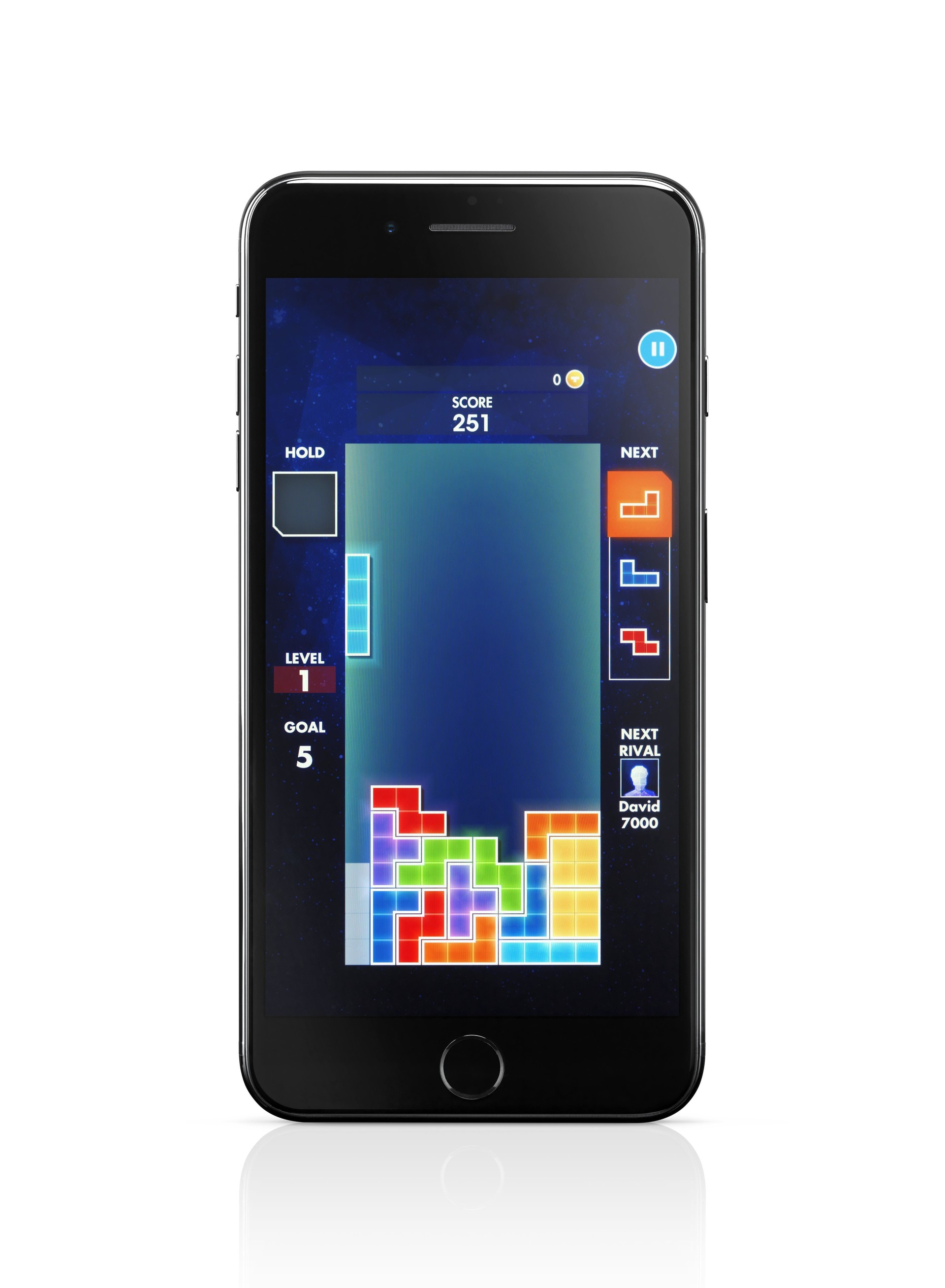 Tetris na iPhone 7