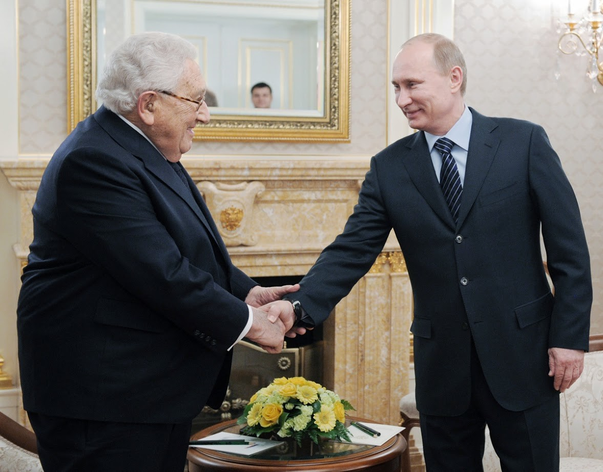 Putin in Kissinger, 2012