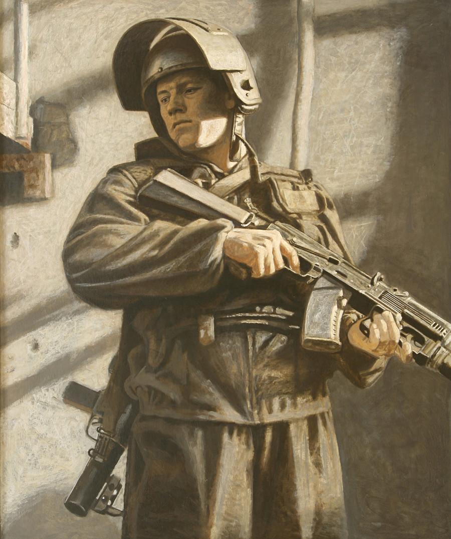 """Aleksandr Teslik, """"In agguato"""", 2005"""
