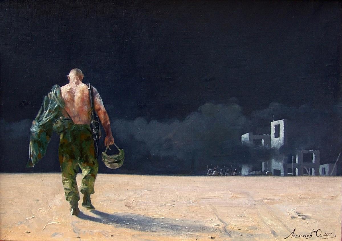 Oleg Leonov, Med boji, 2004
