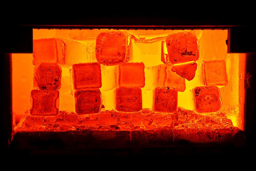 SIJ Metal Ravne, kovačnica, notranjost ogrevne peči