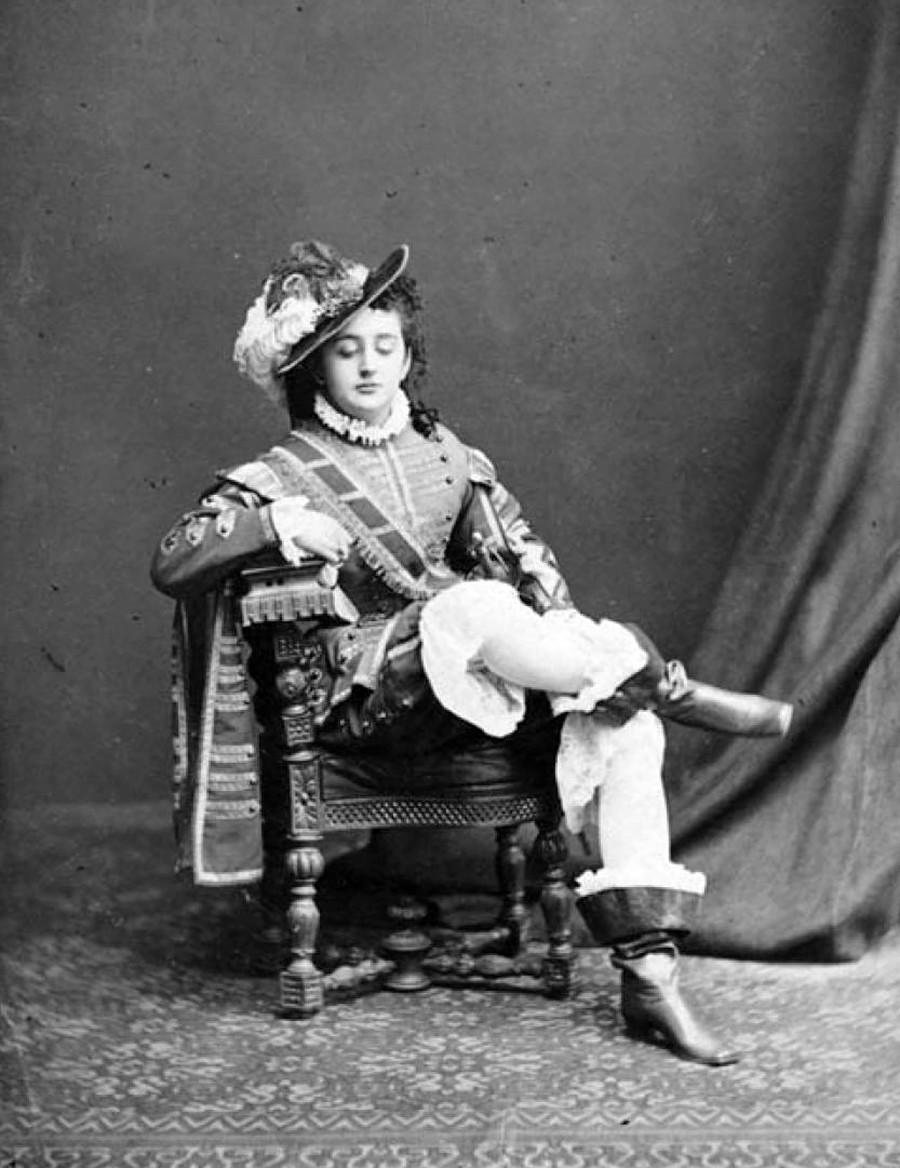 L'attrice Fanny Lear