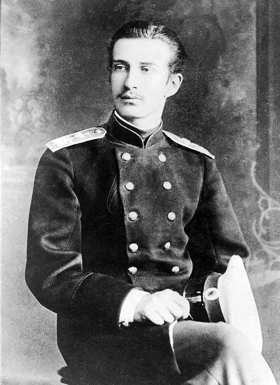 Великият княз на Русия Николай Константинович (1850 - 1918)