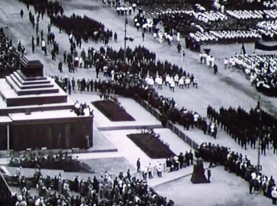 Sportlerparade 1928