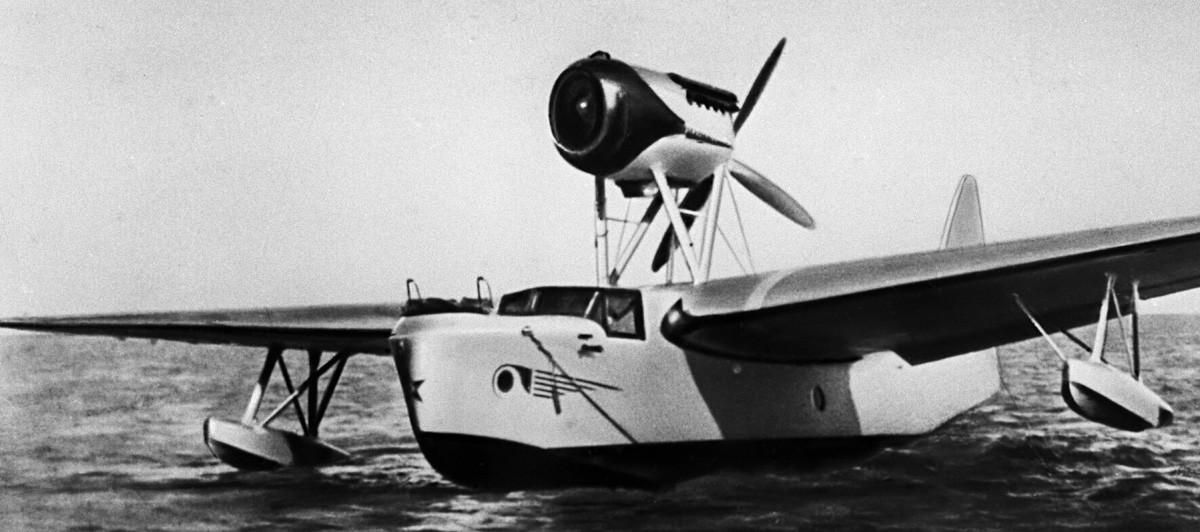 飛行艇MBR-2はG.M.ベリエフの指導で開発され、 1932年5月3日に初めて空を飛んだ。 第二次世界大戦の時に使用されていた。