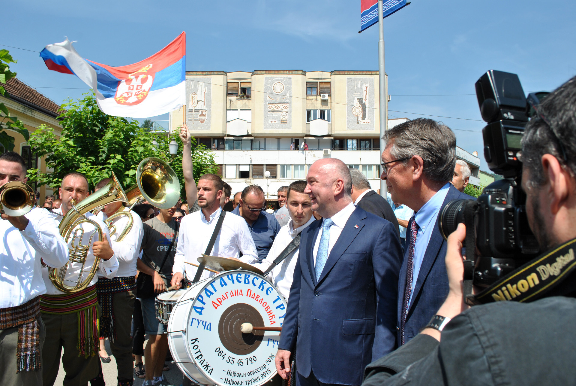 Ненад Поповић и Александар Чепурин