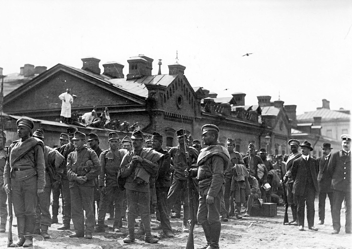 Lotterie um Leben und Tod: In Russischer Kriegsgefangenschaft während des Ersten  Weltkriegs - Russia Beyond DE