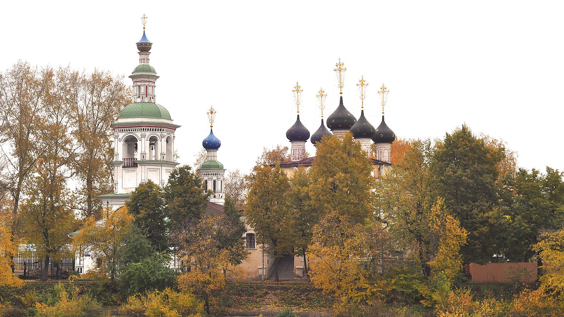 Vologda memiliki sejumlah tempat yang menawan.