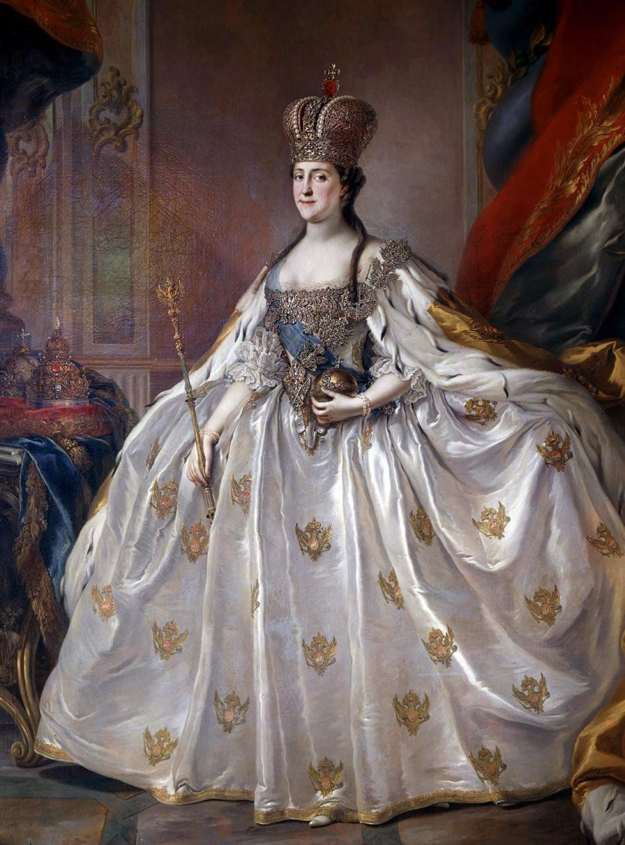 Katharina die Große in jungen Jahren