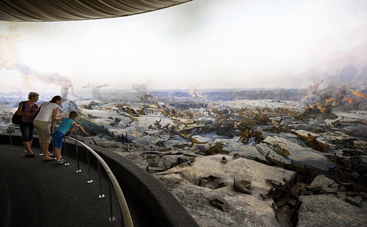 スターリングラードの戦いの3Dパノラマ博物館、ヴォルゴグラード