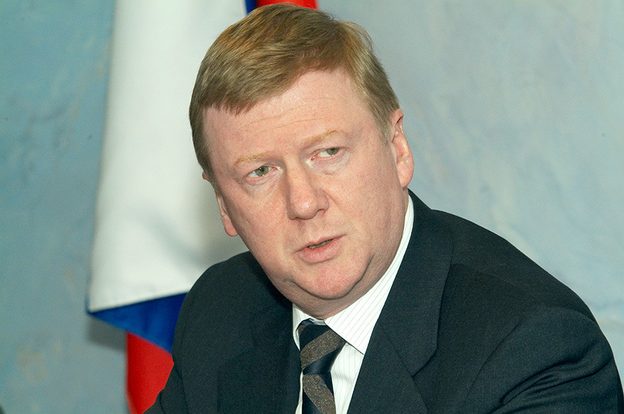 Anatoly Chubais.
