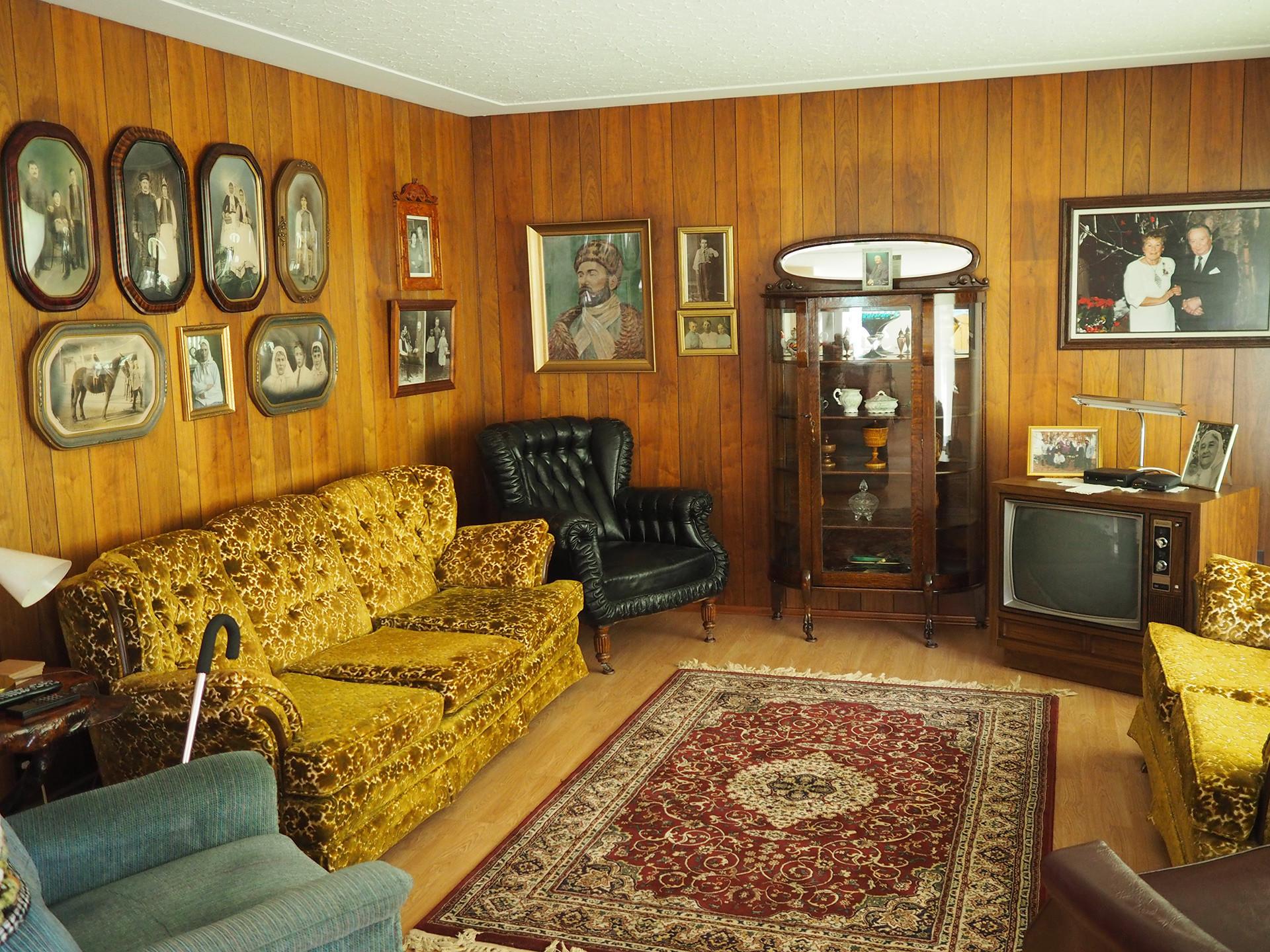 La casa de John Veriguin, el actual líder de los ´dujobores´