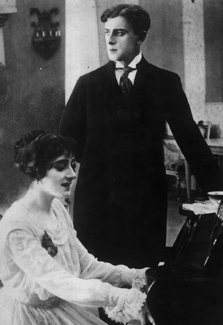 Vera Karalli y Vitold Polonski