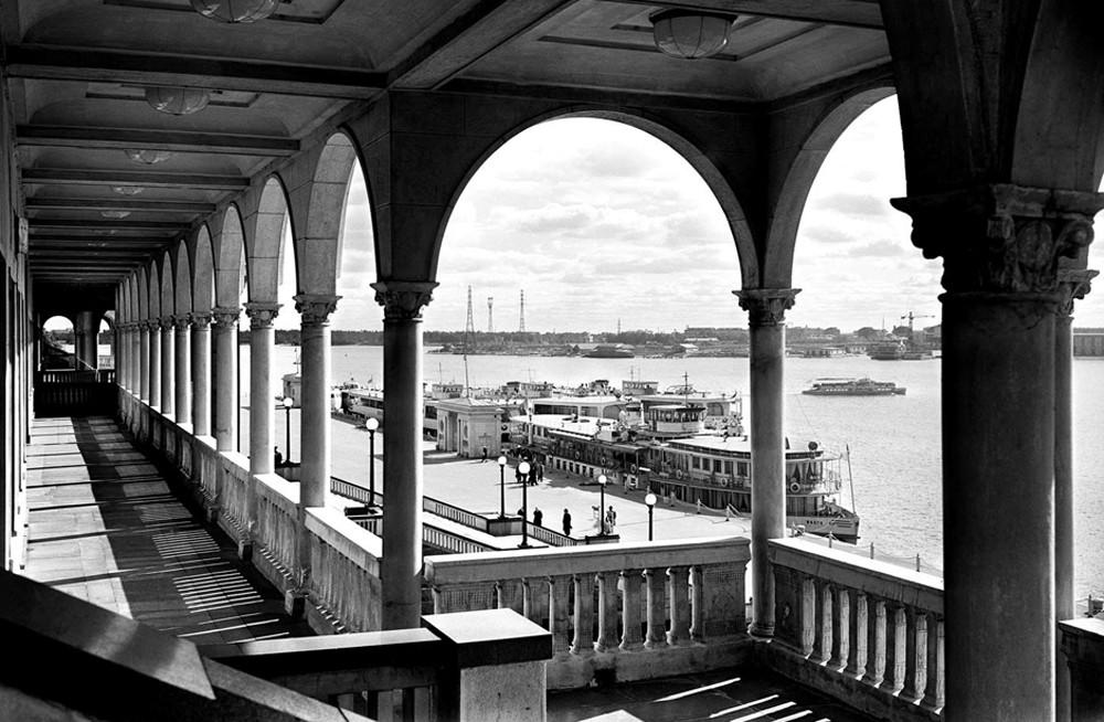 Gare fluviale du Nord, Moscou, années 1960