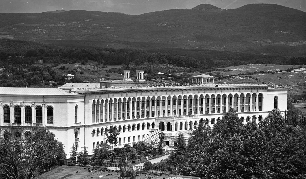 Sanatorium Chakhtior, Tskhaltubo (Géorgie), 1965