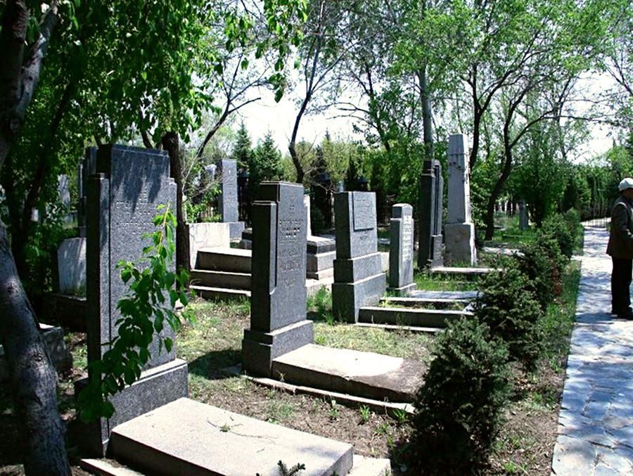 ユダヤ人の墓地。