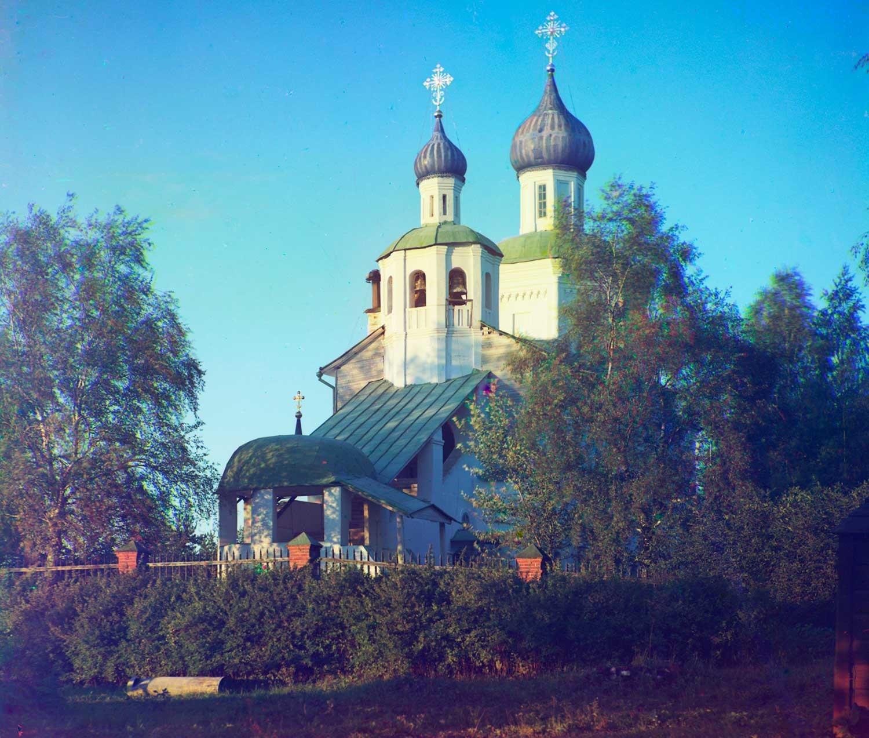 Iglesia del Icono de Nuestra Señora de Smolensk. Vista suroeste. Verano de 1911.