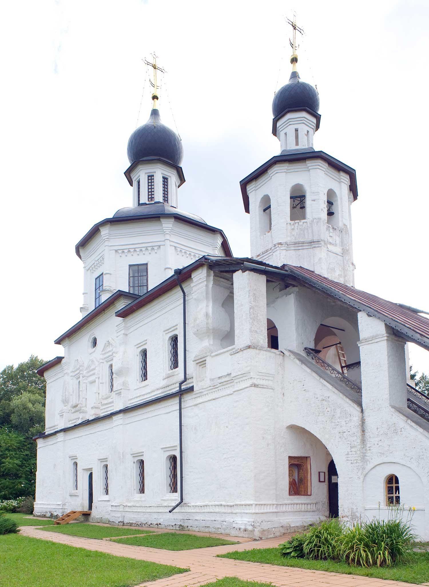 Iglesia del Icono de Nuestra Señora de Smolensk. Vista noroeste. 21 de agosto de 2012.