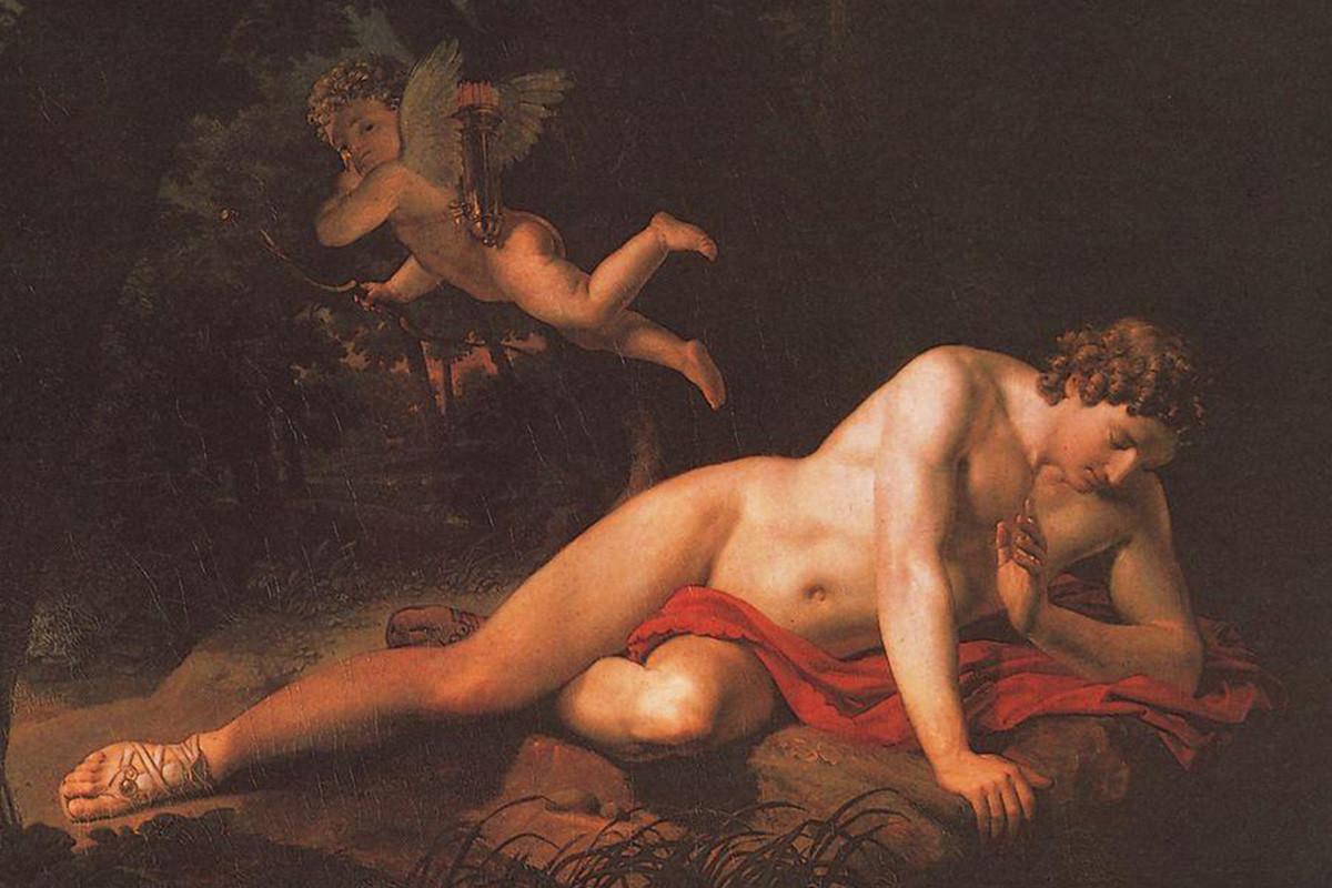 Karl Briullov, O Narciso, 1819