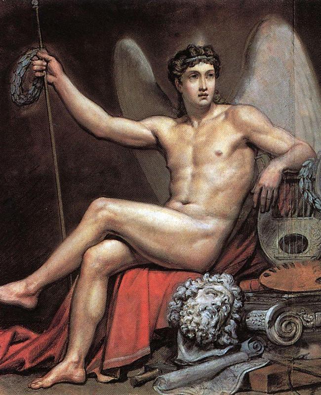Karl Briullov, Gênio da arte, 1820