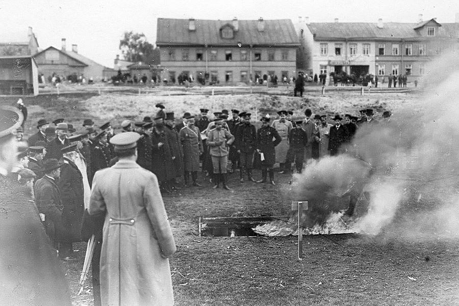 Тестирање Лорановог апарата за гашење пожара