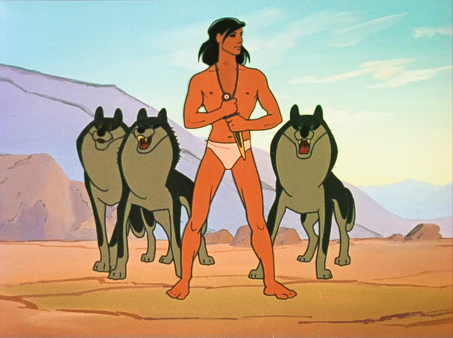 It would be a mistake to expect singing bears in the Adventures of Mowgli