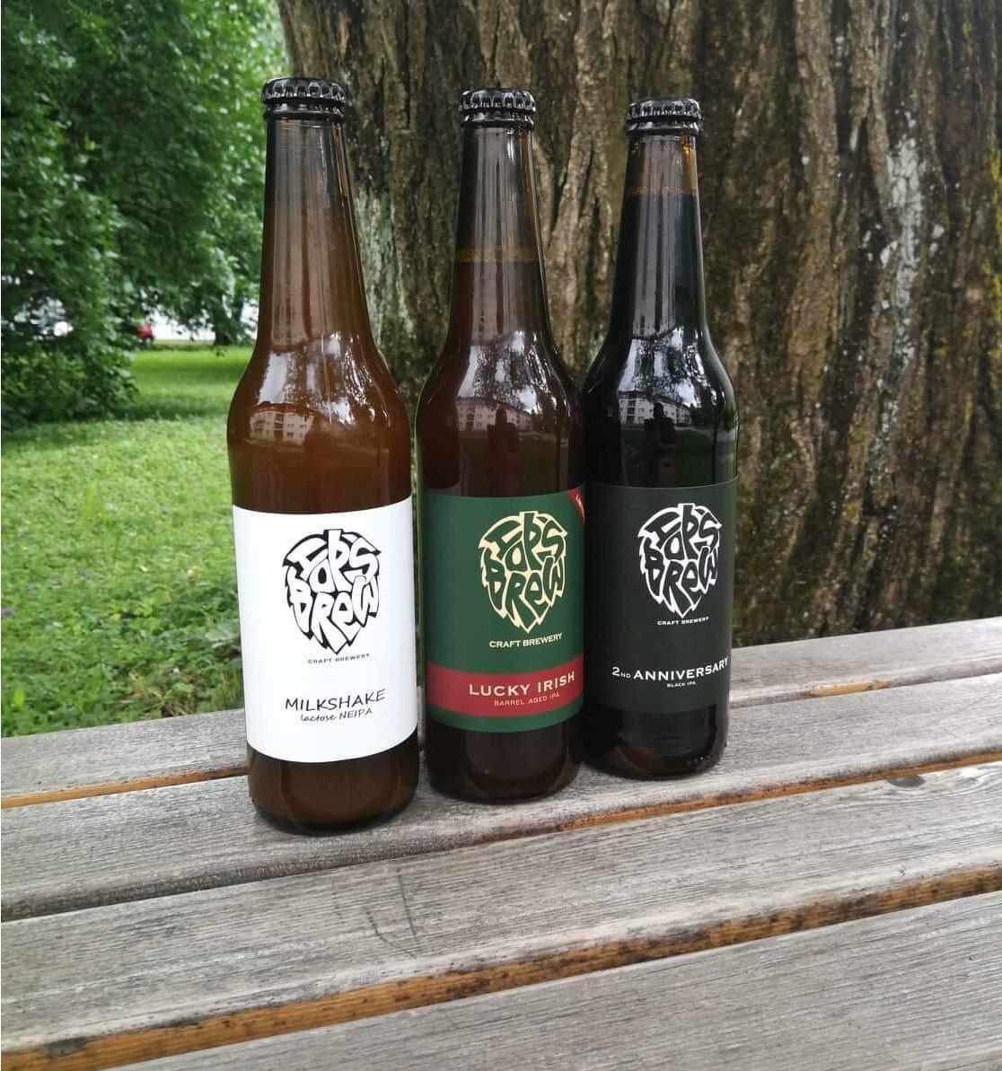 Milkshake, Lucky Irish, 2nd Anniversary IPA, uveljavljena piva iz pivovarne Hopsbrew