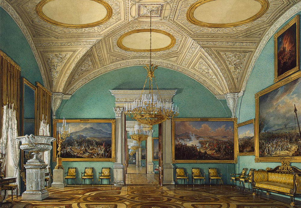Quinta sala de la galería militar.