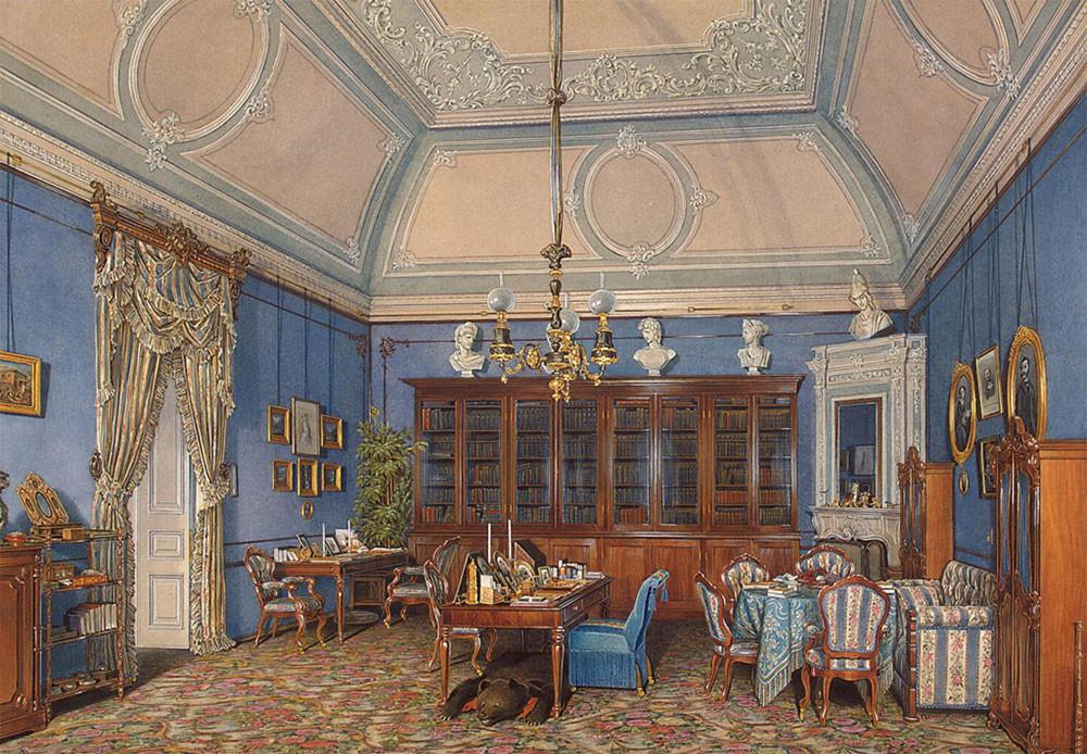 Gabinete de la gran duquesa María Alexándrovna.