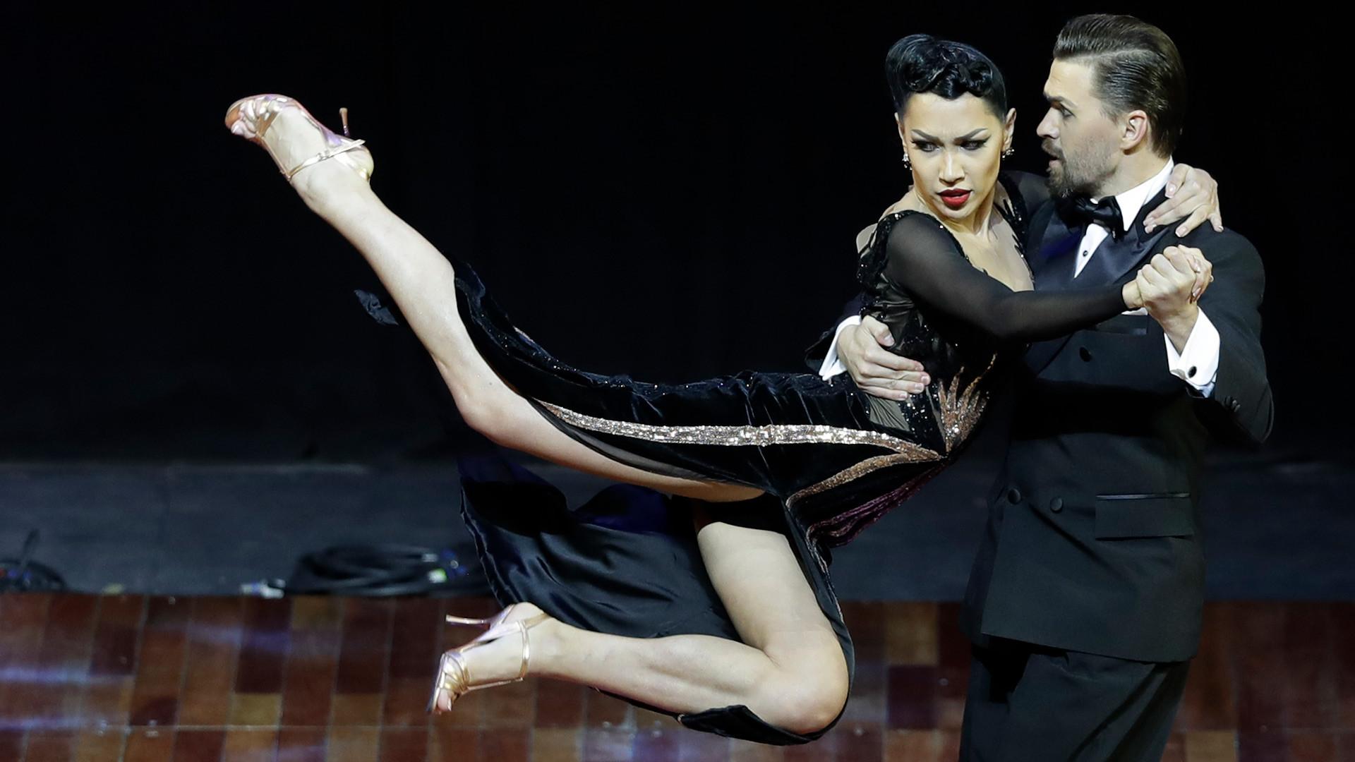 Celebran el Campeonato mundial de Tango en Argentina